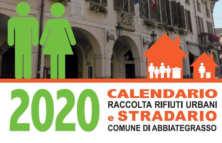 Calendario Abbiategrasso 2020